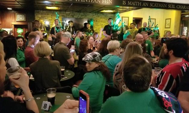 Célébrations pour la St Patrick