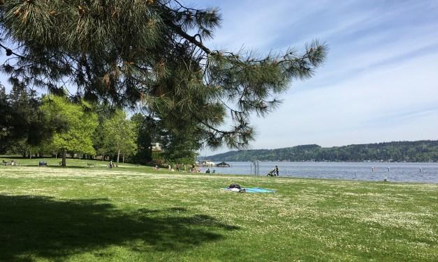 Matthews Beach: une plage à Seattle