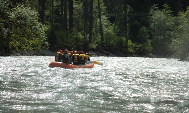 Descente de rivière en rafting