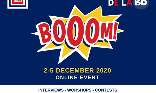 1er festival de la bande dessinée :  Booom !