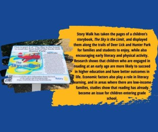 IckFrid Books The Sky is the Limit featured on StoryWalk ®