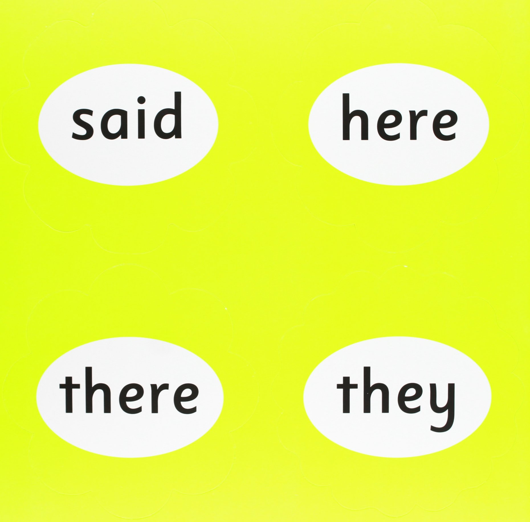 Jolly Phonics Tricky Word Wall Flowers In Print Letters