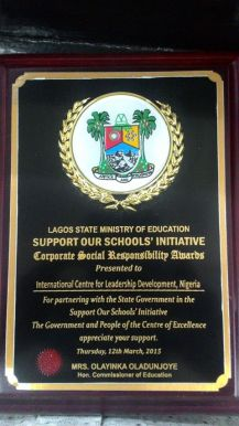 Lagos State CSR Award