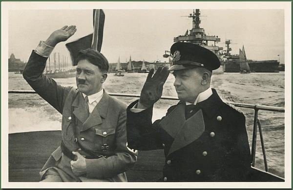 1935 год. Морское Англо-Германское соглашение.