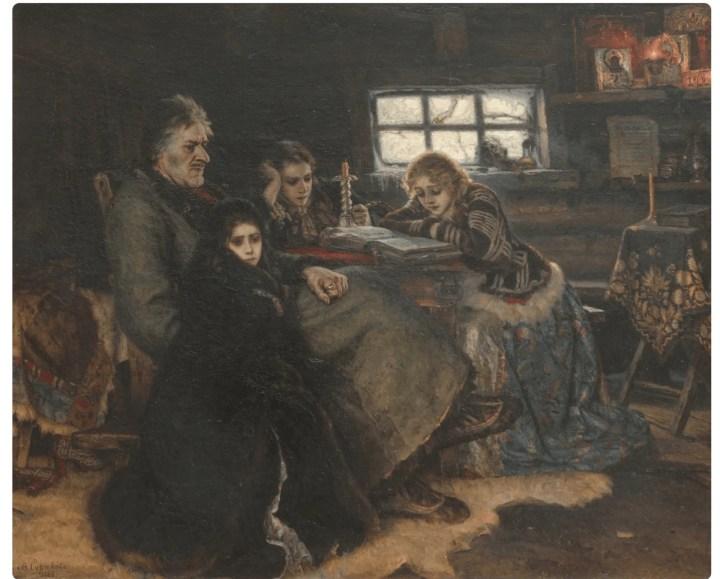 24 января 1848 году родился выдающийся русский художник Василий Суриков 1
