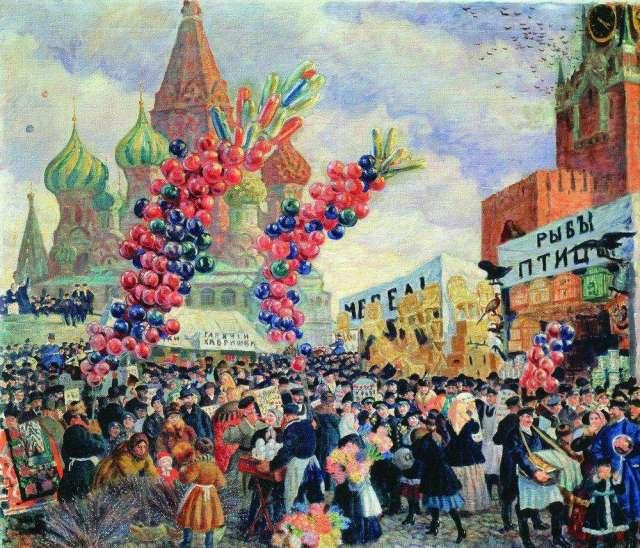 вербное воскресенье москва красная площаь