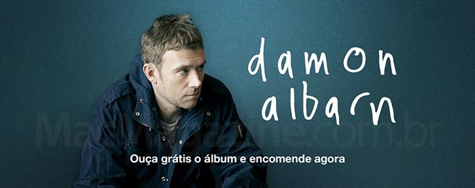 """Everyday Robots"" de Damon Albarn disponível para ouvir gratuitamente no iTunes"