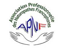 APNF Association Professionnelle des Naturopathes Francophones FRANCE