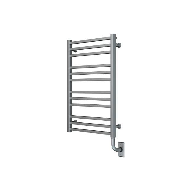 """W3204 - Tuzio Avento 23.5"""" x 31"""" Towel Warmer - Brushed Nickel"""