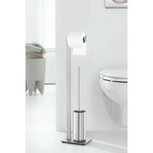 Z40382 Toilet Paper Holder Toilet Brush Stainless Steel