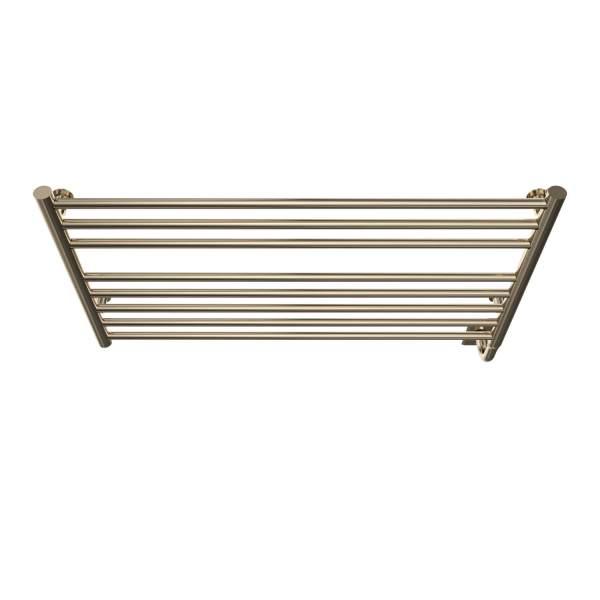 """W4606 - Tuzio Sorano 35.5"""" x 19"""" Towel Warmer - Polished Nickel"""