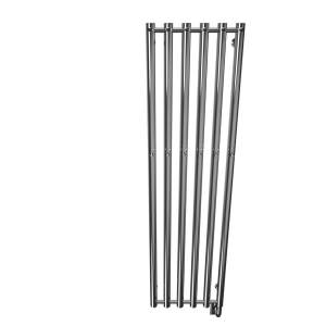 "W8603 - Tuzio Rosendal 16.5"" x 59"" Towel Warmer - Chrome"
