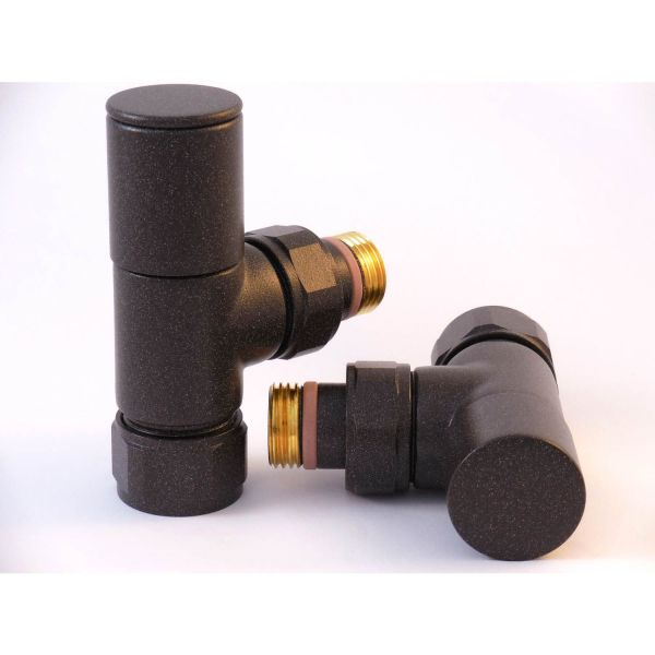 A1017 - Tuzio Regular Angle Valve (Pair) - Oil Rubbed Bronze