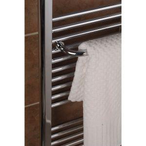 "A4023 Tuzio 23.5"" Savoy Towel Hanger - Chrome"