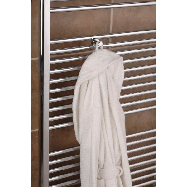 A4073 - Tuzio Robe Hook For Towel Warmer - Chrome