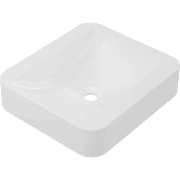 B8911 - Betini Calma Vessel Sink - White