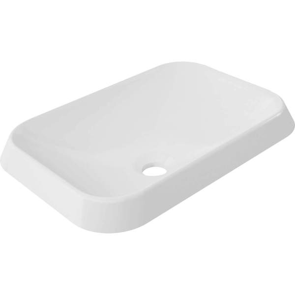 B9831 - Calma Rossini Rectangle Vessel Sink - White
