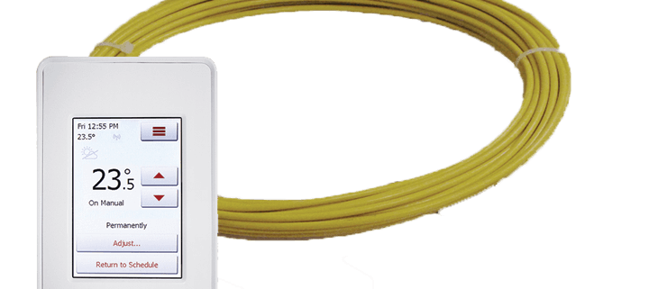 CosyFloor Cable System and Thermostat