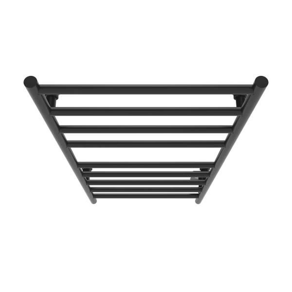 "K4025W - Kontour Linear 18"" x 40"" Electric Hardwired Towel Warmer - Matte Black"