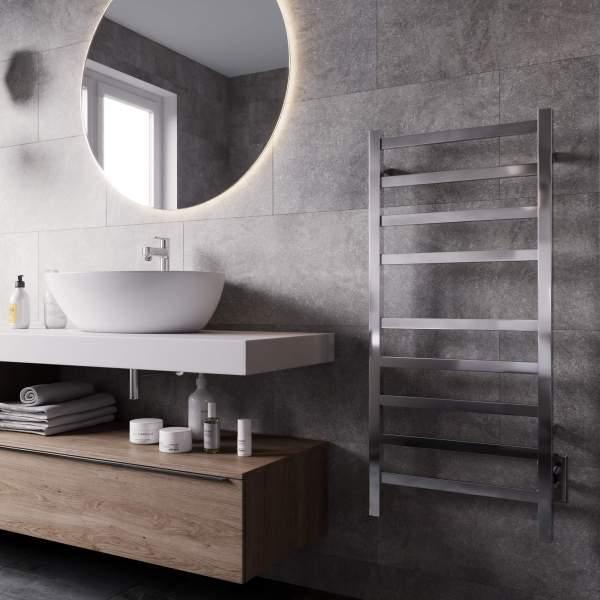 K6023W - Kontour Square Towel Warmer