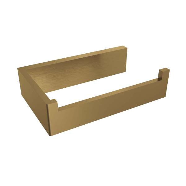 V1010-BGD - Volkano Erupt Toilet Paper Holder- Brushed Gold Dark