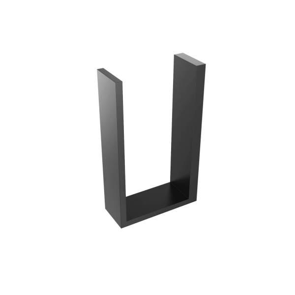 V1085 - Volkano Erupt Spare Toilet Paper Holder - Matte Black