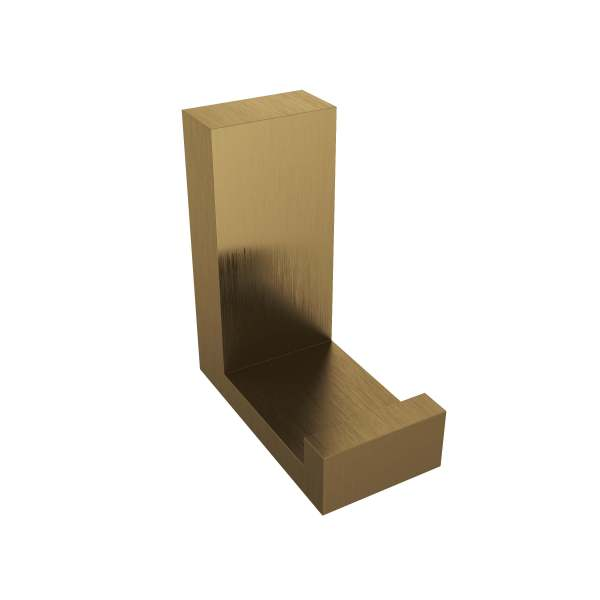 V1210-BGD - Volkano Erupt Towel Hook - Brushed Gold Dark