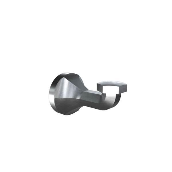 V2214 - Volkano Magma Towel Hook - Brushed Nickel