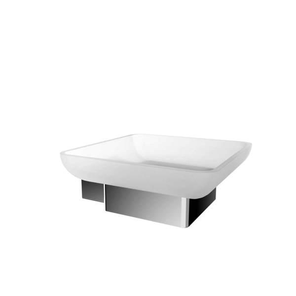 V3513 - Volkano Cinder Soap Dish - Chrome