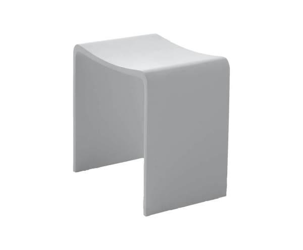 V9611 Volkano Shower Stool White