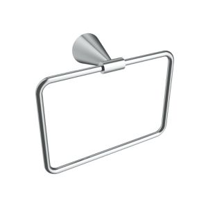 V65313 - Volkano Cone Towel Ring - Chrome