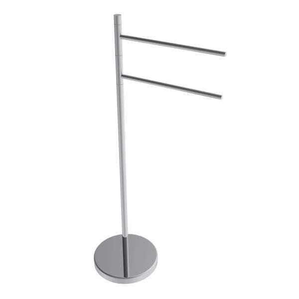 V91213 - swivel round freestanding towel holder