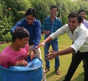 India baptisms