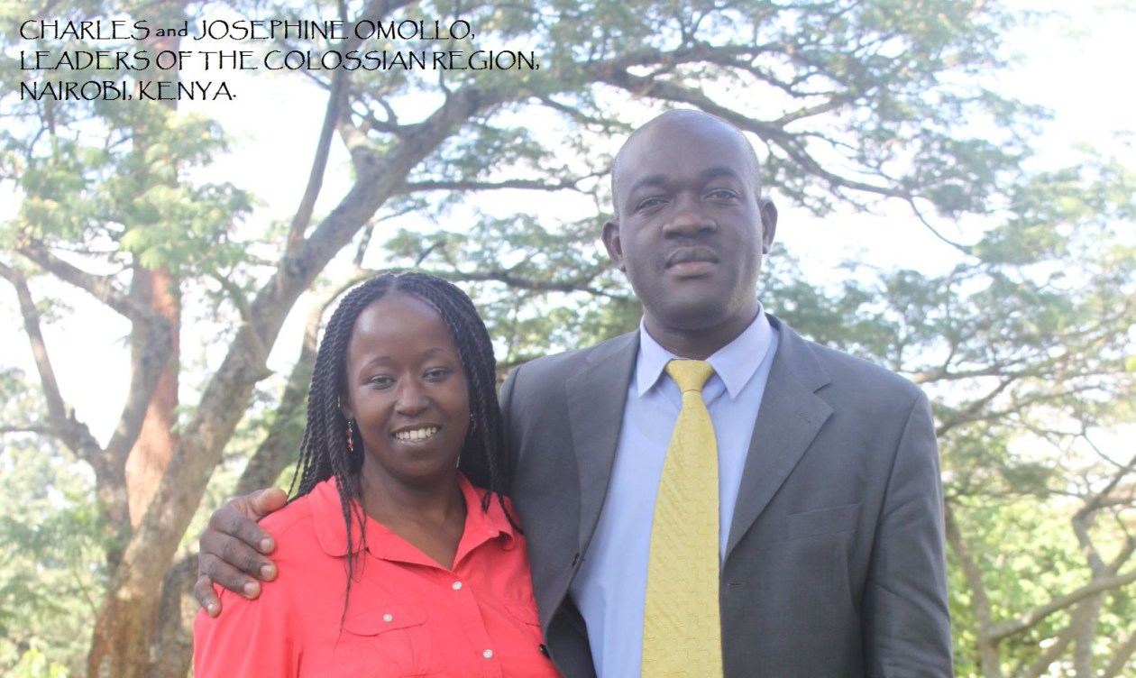 Mr. and Mrs. Charles and Josephine Omollo