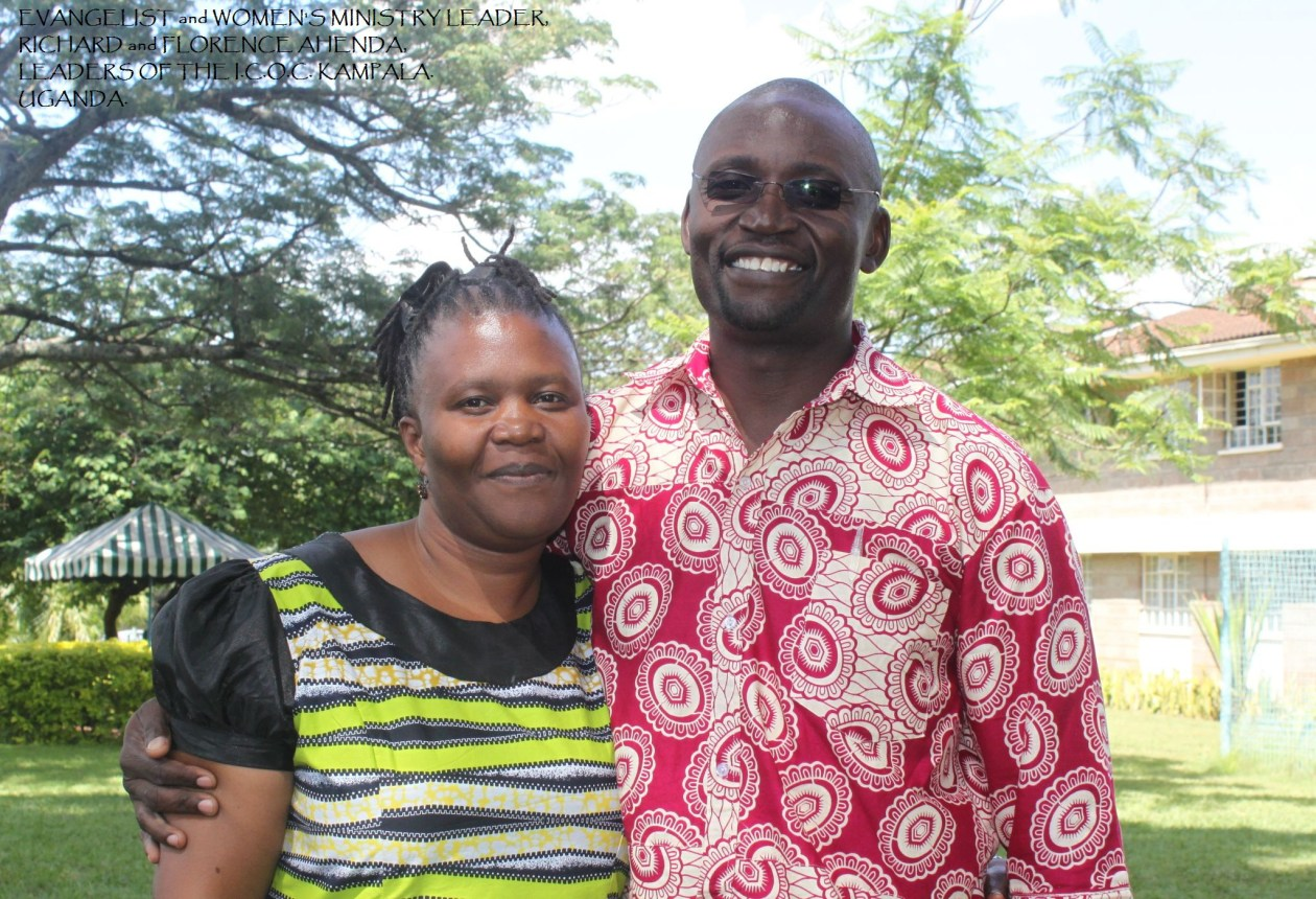 Evangelist Florence and Richard Ahenda
