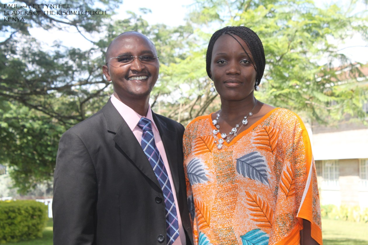 Evangelist Paul and Betty Nthei