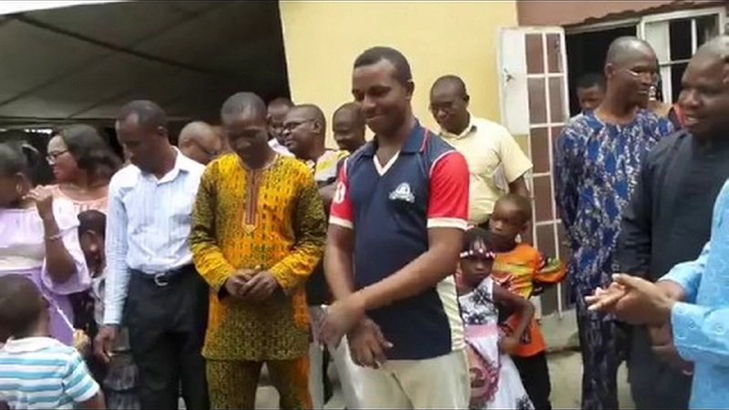 Tony Williams gets Baptized in Oshodi-Isolo Region