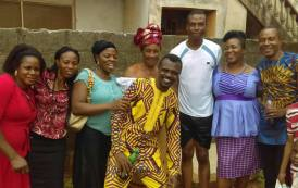 Baptism: Mother and Son's Conversion Story in Lagos