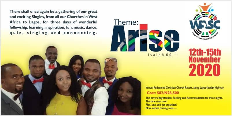 2020 West Africa  Singles Conference – 'Arise'