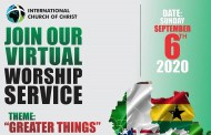 OUR ALL-AFRICA VIRTUAL WORSHIP SERVICE