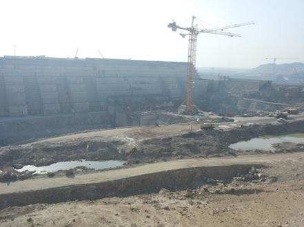 The Grand Ethiopian Renaissance Dam: Photo Courtesy of Tsion Sahle