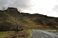 Here's the magical part of the Fairy Glen. We hiked in on the left.