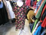 Blommig klänning, M, 45 kr