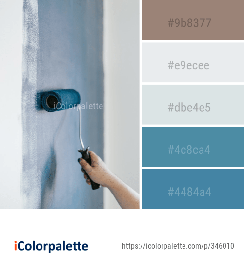 Color Palette Ideas From Paint Roller Image Icolorpalette