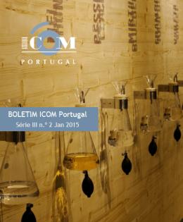 Boletim ICOM Portugal, série III, n.º 2, Jan 2015