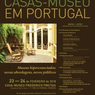 9º Encontro Casas-Museu em Portugal – programa completo