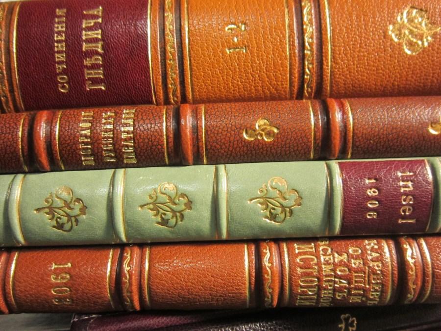 переплет книг, 19 век