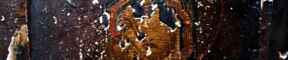 Фрагмент иконы Владимирской Божией Матери