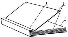 Тип 4   Обложка составная с окантованным корешком
