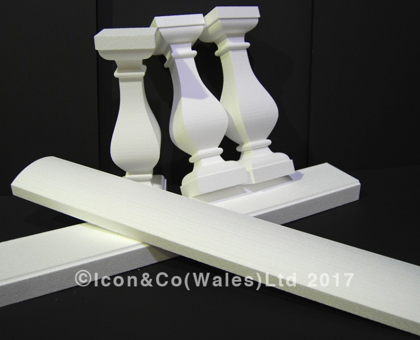 wedding party reception events planning polystyrene poly fake stone concrete marble balusters balustrade sets, faux theatrical props